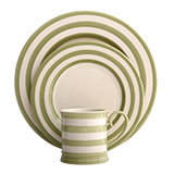 Kitchen Stripe Green