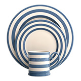 Kitchen Stripe Blue