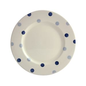 Blue Spot Dinner Plate