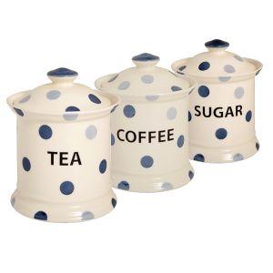 Blue Spot Store Jar Set