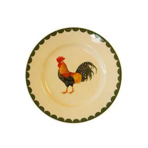 Cockerel Dessert Plate