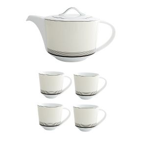 Deco Teapot & Mug Set