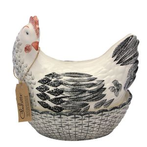 Egg Holder - Charlotte Hen - Black