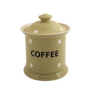 Kitchen Spot Coffee Storage Jar, Apple Green