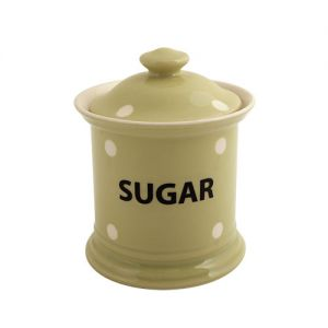 Kitchen Spot Sugar Storage Jar, Apple Green