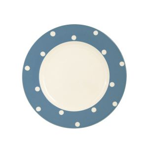 Kitchen Spot Dinner Plate, Delph Blue