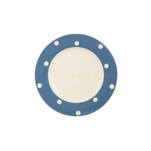 Kitchen Spot Dessert Plate, Delph Blue