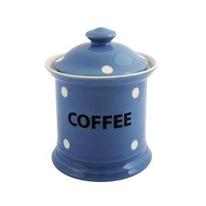 Kitchen Spot – Coffee Storage Jar, Delph Blue