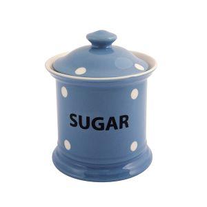 Kitchen Spot Sugar Storage Jar, Delph Blue