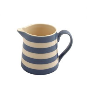 Kitchen Stripe Creamer, Delph Blue