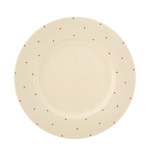 Little Red Dot Dinner Plate