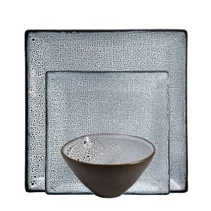 Lava 12 Piece Square Dinner Set