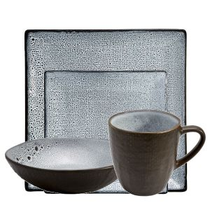 Lava 12 Piece Square Breakfast Set