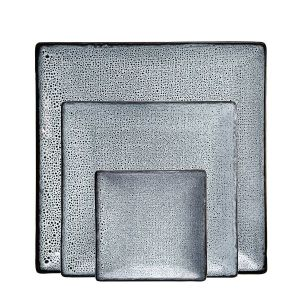 Lava 12 Piece Square Plate Set