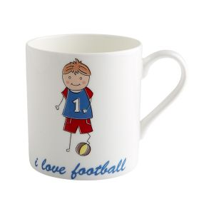 Little Rascals - Football - China Mug