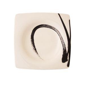 Paint It Black Pasta Plate