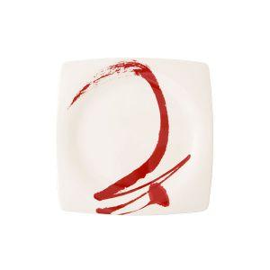 Paint It Red - Dessert Plate