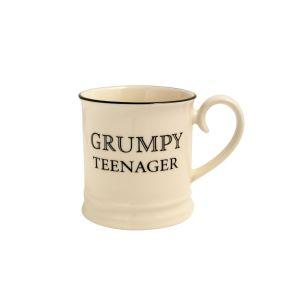 Quips & Quotes Tankard Mug - Grumpy Teenager