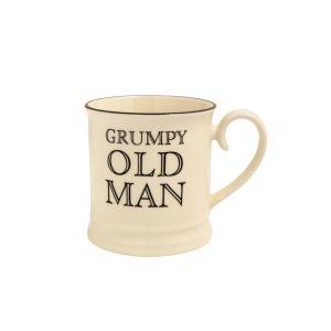 Quips & Quotes Tankard Mug - Grumpy Old Man