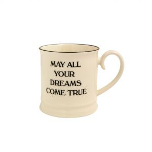 Quips & Quotes Tankard Mug - May all your dreams