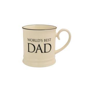 Quips & Quotes Tankard Mug - World's Best Dad
