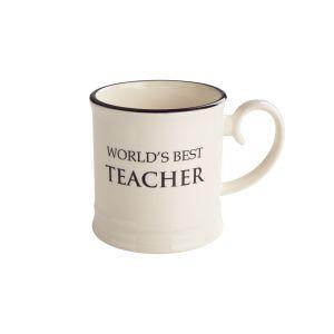 Quips & Quotes Tankard Mug - World's Best Teacher
