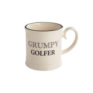 Quips & Quotes Tankard Mug - Grumpy Golfer
