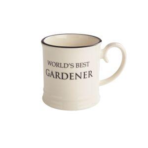 Quips & Quotes Tankard Mug - World's Best Gardener