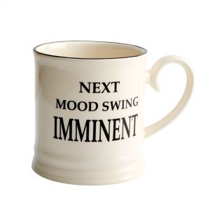 Quips & Quotes Tankard Mug - Next Mood Swing Imminent