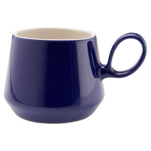 Retro Flared Cobolt Blue Mug
