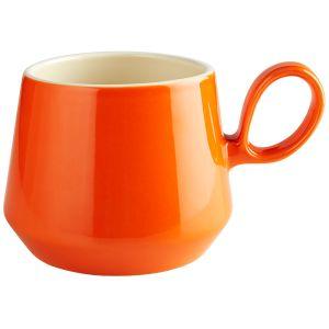 Retro Flared Orange Mug