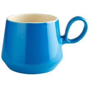 Retro Flared Blue Mug