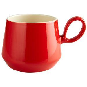 Retro Flared Red Mug