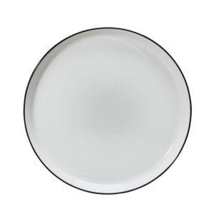 Arctic Noir Dessert Plate