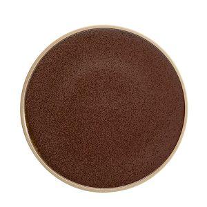 Raw Plate 28.5cm Earth