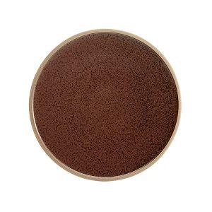 Raw Plate 25.5cm Earth