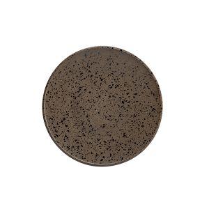 Raw Plate 21cm Granite