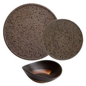 Raw 12 Piece Set Granite