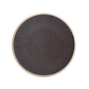 Raw Plate 25.5cm Slate