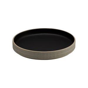 Raw Dish 18.5cm Slate