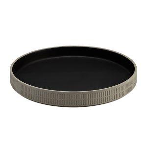 Raw Dish 23cm Slate