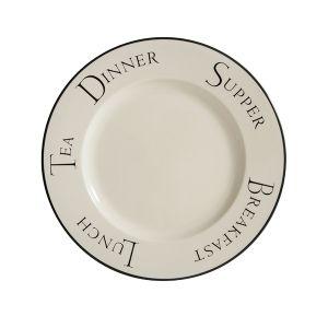Script Dinner Plate