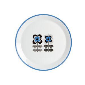 Stockholm Blue Dessert Plate