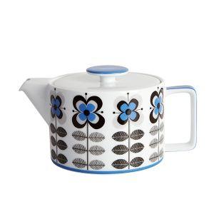 Stockholm Blue Teapot