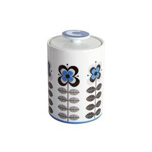 Stockholm Blue Coffee Storage Jar