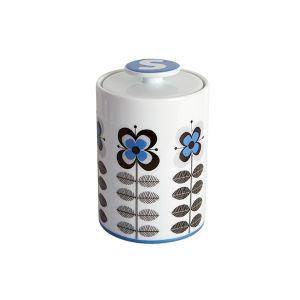 Stockholm Blue Sugar Storage Jar