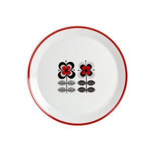 Stockholm Red Dessert Plate