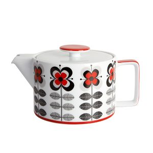 Stockholm Red Teapot