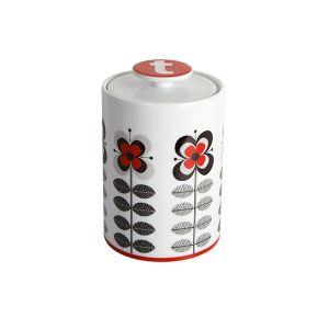 Stockholm Red Tea Storage Jar