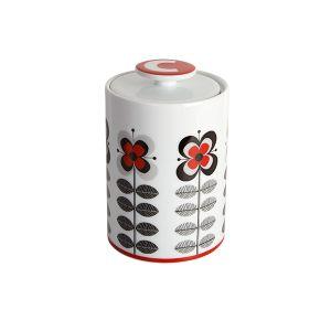 Stockholm Red Coffee Storage Jar